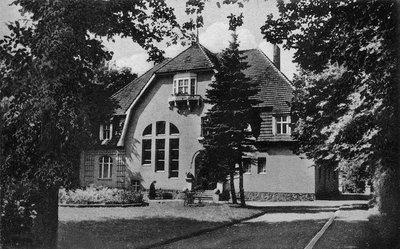 Городское здание в районе Тиргартен (зоосад)